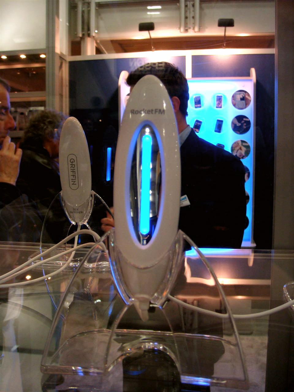 Macworld 2008: Griffin's RocketFM Transmitter